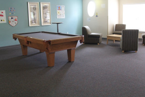 Partial view of a common space used by all students - the best summer academic camp NJ has to offer!